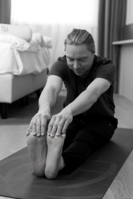 Yogapraxis bei Tobias